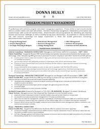 Project Management Resume Manager Skills Mac Template Resumes Image