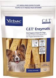 Dog Teeth Health Chart Virbac C E T Enzymatic Oral Hygiene Dog Chews Petite