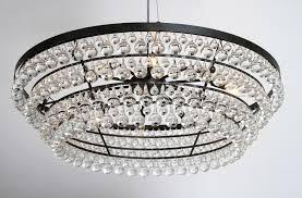 heidi rustic wrought iron 10 light 4 trays glass crystal chandelier 35