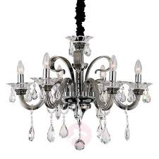 viktor six lamp pendant lamp crystal ornaments