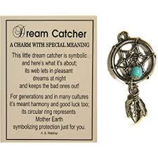 Are Dream Catchers Bad Luck Mesmerizing Amazon Tiny Little Dream Catcher Pocket Charm With Story Card