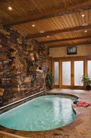Pool Room In Log House Would Love A Inside One Day I Creative Pictures Of Indoor  Pools Houses
