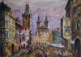 paintings of prague things to know about prague travel art