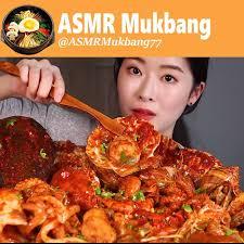 China Mukbang - ASMR SEAFOOD BOIL SPICY ...