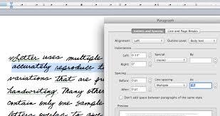 Using Handwriting Fonts In Microsoft Word Vletter Inc