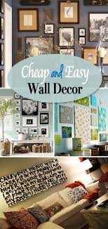 easy and cheap ways to decorate your house. cheap and easy diy wall decorating ways to decorate your house