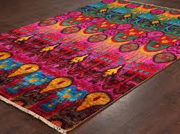 rugsville sari silk eros multi colors rug 13866
