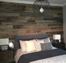 wood accent wall reclaimed barn wood master bedroom accent wall diy wood pallet accent wall
