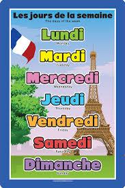 French Days Of The Week French Days Of The Week Spaceright Europe Ltd