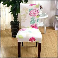 patterned dining room chair covers how to make intended for ideas 12