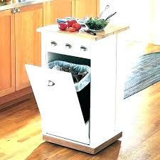 kitchen garbage can cabinet double trash bin cabinet trash can cabinet kitchen trash can cabinet double