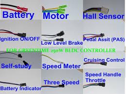 greentime 24v 250w brushless dc motor controller e bike controller 250w bldc controller wiring diagram photo final