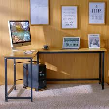 home office shaped. Tribesigns Modern L-Shaped Desk Corner Computer Study Home Office Shaped