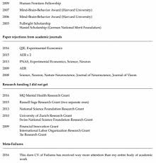 a princeton professor published a cv of his failures online and screen shot 2016 04 30 at 10 35 22 am