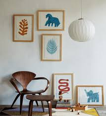 turn your wall into your child s personal art gallery