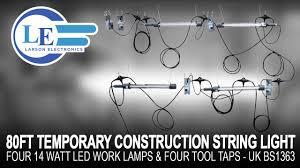 Temporary Lighting String Uk