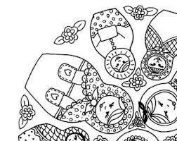 Small Picture Doll coloring pages Etsy