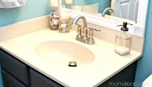 the easy way to get stains off of your porcelain sink