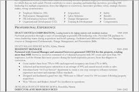 Cv Template Hospitality Elegant Hotel Management Resume Examples
