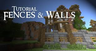 how to make a fence minecraft. Minecraft Tutorial: Medieval FENCES And WALLS How To Make A Fence