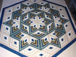 Diamond Log Cabin Star Quilt Pattern   eBay & Diamond Log Cabin Star quilt pattern Adamdwight.com