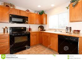 kitchen color ideas with oak cabinets and black appliances. Full Size Of Kitchen:oak Cabinets Painted Antique White Before And After Color Kitchen Ideas With Oak Black Appliances E