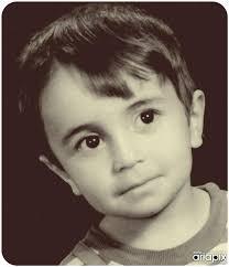نتیجه تصویری برای عکس کمیاب علی ضیاء در کودکی