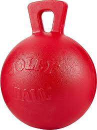 Jolly Pets Tug N Toss Dog Toy Red 4 5 In