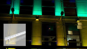 Exterior Building Lights Led Wall Washer Diva I 48w Lumiven