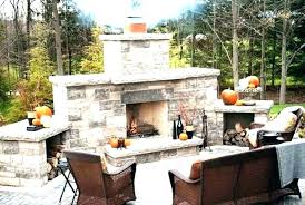 outdoor brick fireplace plans fire pit