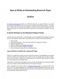 002 Research Paper How To Make An Outline For Museumlegs