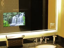 Beautiful Design Ideas Mirror Tv Bathroom In Harpsounds Co With within  dimensions 1600 X 1200
