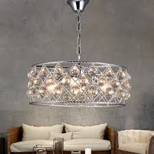 modern round crystal chandelier metal iron coffee bar dining room restaurant hanging lighting rope chandelier gold chandelier earrings from stylenew