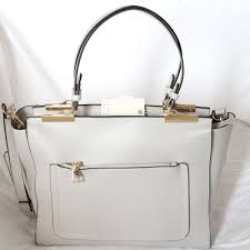 isabelle vegan grey handbag