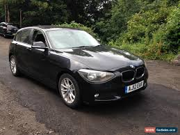clic 2016 bmw 116d se black non runner spares or repair