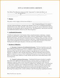 Confidentiality Agreement Template Word Beautiful Confidentiality ...