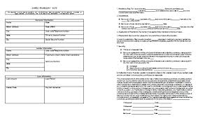 Basic Promissory Note Extraordinary Promissory Note Template Templates For Microsoft Word