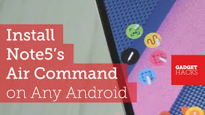 Get Note5 On 'air Command The Feature 's Android Galaxy Device ' Any 1Fxq1ZS
