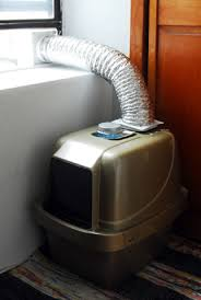 Kitty litter box vent! I could have used this when I lived in my studio