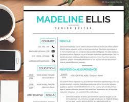 Modern Healthcare Resume Medical Resume Etsy