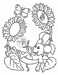 Mouse Coloring Pages To Print Free Coloring Books