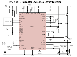 ltc multichemistry buck battery charger controller ltc4015 typical application