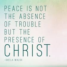 Christian Quotes On Peace Best of Christian Quote About Peace By Sheila Walsh Christians Pinterest