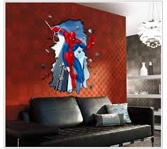 wall decals home decor wallpaper mural with regard to marvel wall