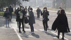 coronavirus italy towns in lockdown