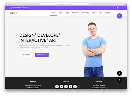 20 Awesome Wordpress Material Design Themes For Website Landing