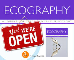 Ecography A Journal Of Space And Time In Ecology