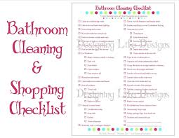 bathroom cleaning schedule. Gtt For Bedroom Cleaning Checklist Bathroom Schedule