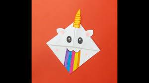 easy kawaii unicorn bookmark cute diy