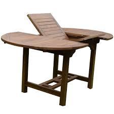 Table De Jardin Table Octogonale En Teck Coloris Brun Trigano Store